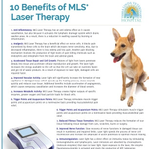 Benefits of MLS Laser Therapy